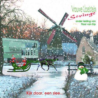 winterCD van Vrouwe IJsselstein Swingt